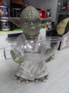 Porta caramelo Yoda