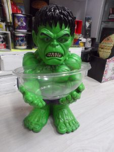 Porta caramelo Hulk